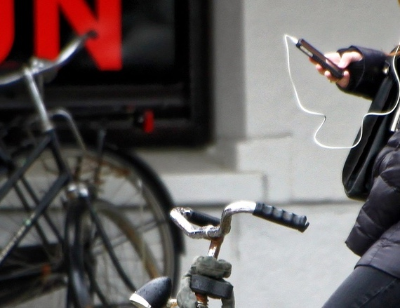 Casque audio à vélo c'est interdit