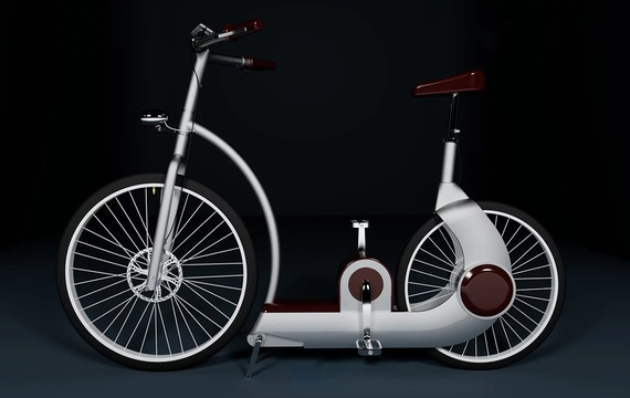 Photo du concept du vélo U-Feel