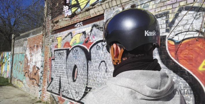 Photo du casque KASK Urban Lifestyle vu de l'arrière