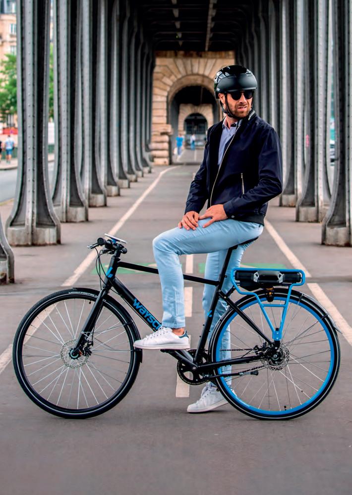 Vélo électrique homme Wayscral Hybrid by Michelin