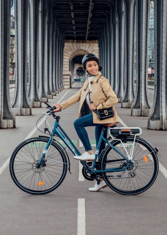 Vélo électrique femme Wayscral Hybrid by Michelin